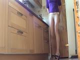 Collants en cuisine